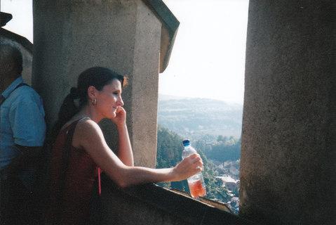 FOTKA - hradní paní