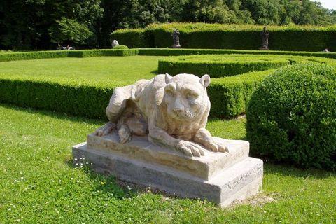 FOTKA - Lysá nad Labem, zámecký park (v zámku domov důchodců, ale park volně přístupný)