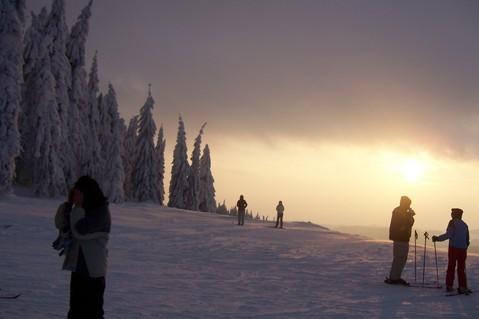 FOTKA - Beskydský západ slunce