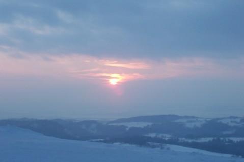 FOTKA - Zamrzlé slunce