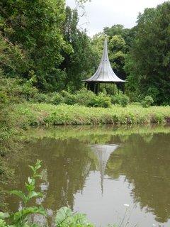FOTKA - po dešti v zámeckém parku v Lednici (Lednicko-valtický areál)