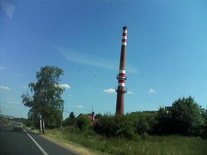 FOTKA - teplarensky komin u frantovek