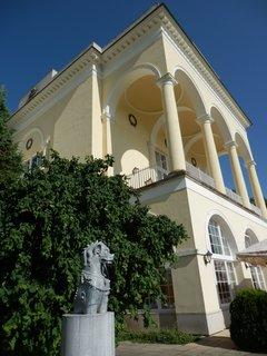 FOTKA - Klasicistní stavba Hraničního zámečku, Lednicko-valtický areál