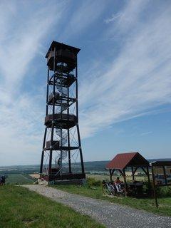 FOTKA - rozhledna Maják na Přítlucké hoře, jižní Morava