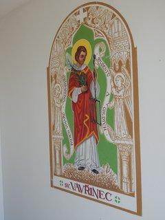 FOTKA - výzdoba kaple sv. Floriána (obec Zaječí)