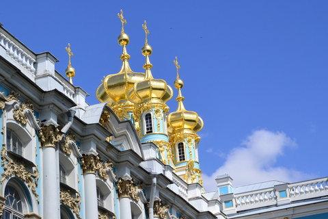 FOTKA - Zlaté báně na carském paláci
