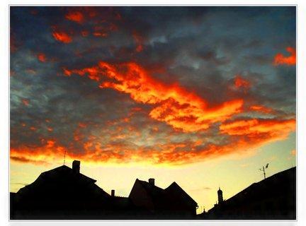 FOTKA - Dramatická obloha