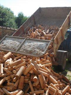 FOTKA - 28 - 30.7. - 1 - zásoba dřeva na zimu je doma