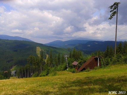 FOTKA - Beskydy - Bílá  - sjezdovka