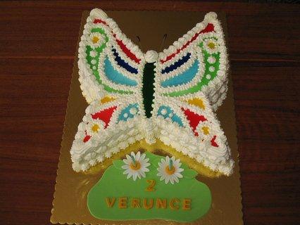 FOTKA - Motýl pro Verunku