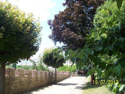 FOTKA - Park u Vlašského dvora, v dáli je vidět Jezuitskou  kolej