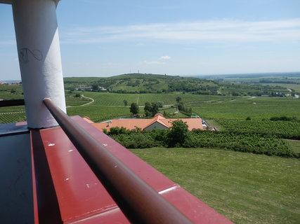 FOTKA - výhled z rozhledny Dalibor u obce Zaječí (článek bude příští týden)