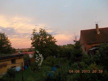 FOTKA - 4 - 6.8. - 4 -  nebe po bouřce