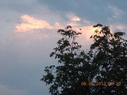 FOTKA - 8.8 + 9.8. - 6 - večerní nebe