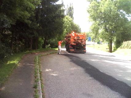 FOTKA - oprava silnice