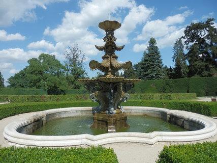 FOTKA - benátská kašna - ozdoba zámeckého parku, Lednice