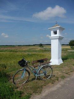 FOTKA - cyklotoulání pohraničím - u rakouských hranic na Břeclavsku,