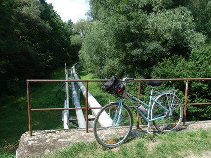 FOTKA - cyklotoulání jižní Moravou - lužními lesy poblíž Hodonína