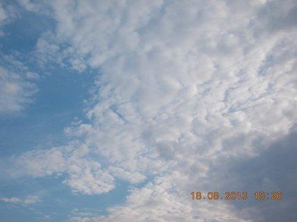 FOTKA - 18. srpna - 16 - podvečerní nebe