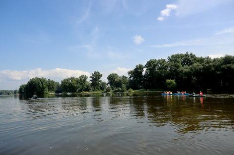 FOTKA - Pohoda na řece