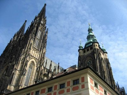 FOTKA - Z procházky  - Pražský hrad 1