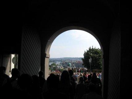 FOTKA - Z procházky  - Pražský hrad 6