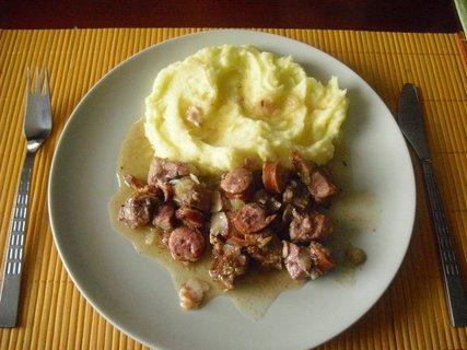 FOTKA - ražniči a bramborová kaše
