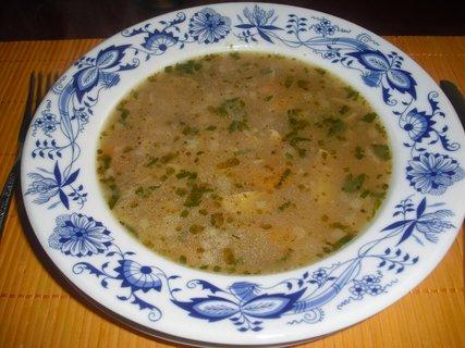 FOTKA - bramborovo houbová polévka