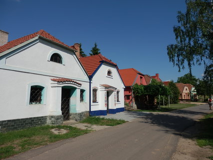 FOTKA - toulky Slov�ckem, Vinn� uli�ka v Sudom��ic�ch, okres Hodon�n