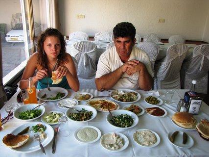 FOTKA - Oběd v Nazaretu