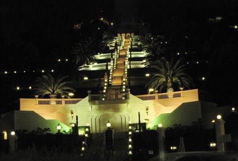 FOTKA - Noční Haifa