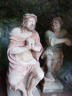 FOTKA - ze zastavení na křížové cestě na Svatý Kopeček v Mikulově
