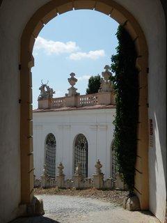 FOTKA - jedna z cest k zámku v Mikulově