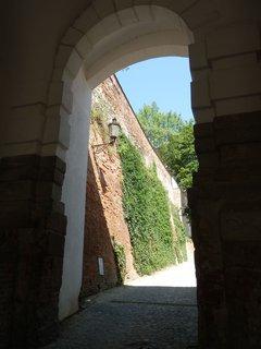 FOTKA - jedna z přístupových cest k zámku v Mikulově