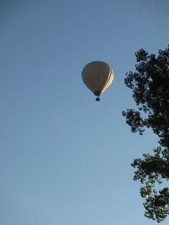 FOTKA - balon nad zahrádkou 2