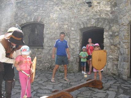 FOTKA - Na hrade Strečno 5