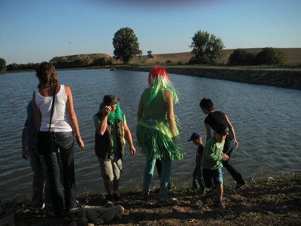 FOTKA - Otvírání rybníku srpen......