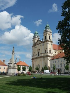 FOTKA - vzpomínka na prázdniny, kostel ve Valticích