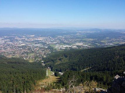 FOTKA - výhled z Ještědu