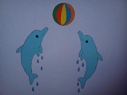 FOTKA - Delfíni s balonem