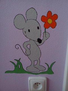 FOTKA - Myšička s trávou