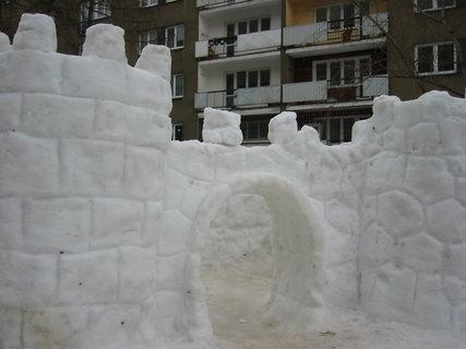 FOTKA - Sněžný hrad