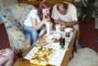 oslava u rodičů-taťka a Péťa