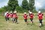 hasičská soutěž-Žernov  28.6.08-naše družstvo-ženy-na startu