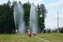 hasičská soutěž-Žernov  28.6.08-útok.