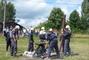 hasičská soutěž-Žernov  28.6.08-naše družstvo-chlapi...