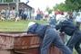 hasičská soutěž-Žernov  28.6.08-chlapi-sání