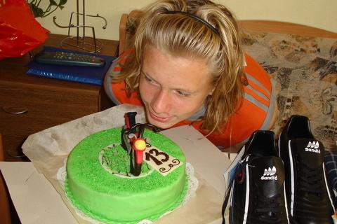 FOTKA - Míša a dort