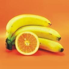 FOTKA - banany a pomeranc