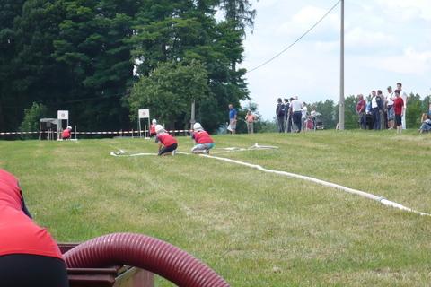 FOTKA - hasičská soutěž-Žernov  28.6.08-útok